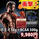 風神プロテインWPC コンセントレート【BCAA500g付き!】【送料無料!】【徳用5kg!】【プロ...