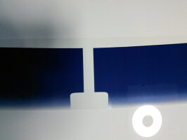 カーフィルムカット済みセレナC27H28.8〜C26H22.11〜(S-HYBRID含)フロントトップシェードグラデーションタイプカーフィルムカット済み/フロントカーフィルム