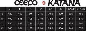 CEEPO KATANA シーポ カタナ フレームセット 加速性のに優れたロング&ミドルディスタンス向け