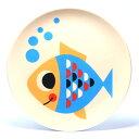 ■ OMM DESIGN MELAMINE PLATE FISH (O...