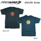 FIREWIRE SURFBOARDS【ファイヤーワイヤー】半袖Tシャツ Circle Icon【サークルアイコン】