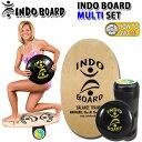 INDO BOARD バランスボード【ローラー・クッション・HOW TO DVD付】サーフトレーニング