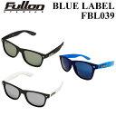 Fullon フローン サングラス 偏光レンズ POLARIZED ポラライズド 偏光レンズ 正規品 FBL039 [99%UVカット...