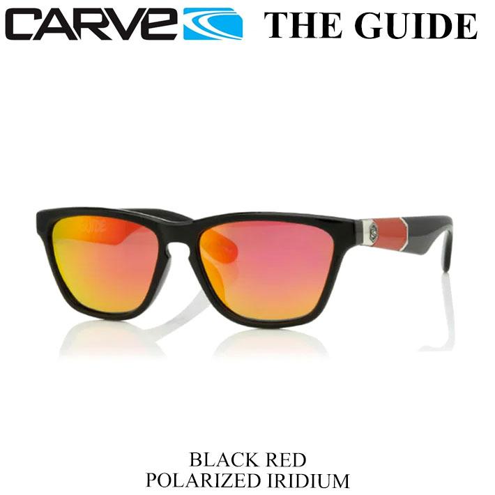 眼鏡・サングラス, サングラス 1115 P21 CARVE THE GUIDE BLKRED POLAIRIDIUM 50-1