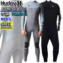 2021 Hurley ウェットスーツ フルスーツ 3mm CHEST ZIP チェストジップ メンズ [MZFLAD21] ADVANTAGE PLUS アドバンテージ プラス サーフィン 春夏用 ウエットスーツ・・・