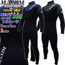 マキシム ウェットスーツ メンズ フルスーツ ノンジップ 2021年 [フォローズ限定] MAXIM ウエットスーツ...