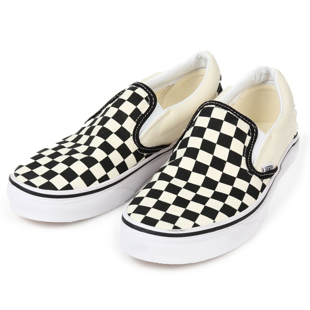 メンズ靴, スリッポン Vans shoes Classic Slip-on :Vans CheckerboardWhtVans