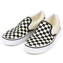 【送料無料】Vans shoes ヴァンズ シューズ ※ Classic Slip-on ※カラー:チェッカーボードVans クラシック ス