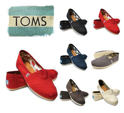 あす楽対応  Toms トムズ シューズ (Toms シューズ) ウィメンズ キャンバス クラッシック 【スリッポン レディース】※ Toms shoes Women's Canvas Classics※全6色 【RCP】【楽ギフ_包装】