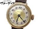 3F R.W.C.LTD/ロレックス・ウォッチ・ カンパニー■アンティーク 525A K9 9金 イエローゴールド 手巻き 時計∞レディース 29S