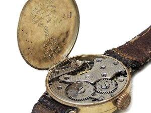 3Fアンティークロレックス■R.W.CK9YG手巻き時計▼婦人用