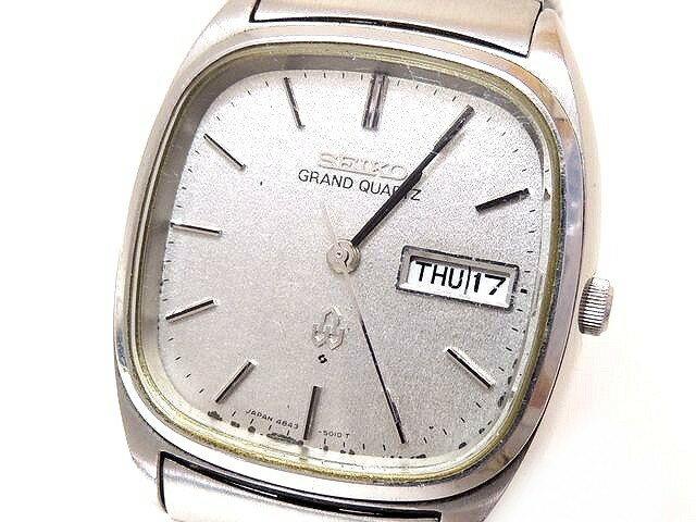 腕時計, メンズ腕時計  4843-5011 GRAND QUARTZ SEIKO 3E