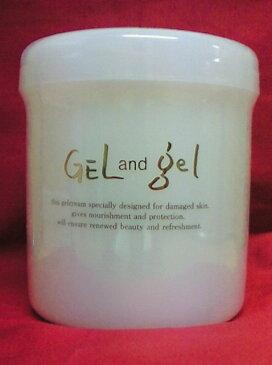 【送料無料】 ゲル&ゲルクリーム Sレギュラー 容量500gピュア化粧品ゲルアンドゲルS水から生まれた天然の潤いたっぷり!!オールインワンゲルクリーム