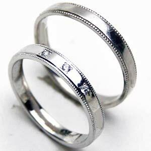 ブライダルジュエリー・アクセサリー, 結婚指輪・マリッジリング 2 platinum ring