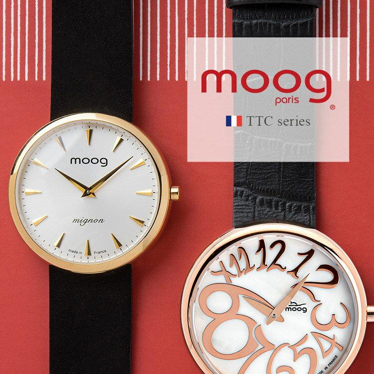 腕時計, レディース腕時計 moog TTC Ronde mignon