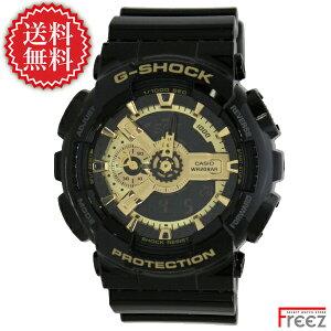 カシオ/G-SHOCK/時計/ジーショック/デジアナ/黒×金/BLACK/GOLD/GA-110GB-1A
