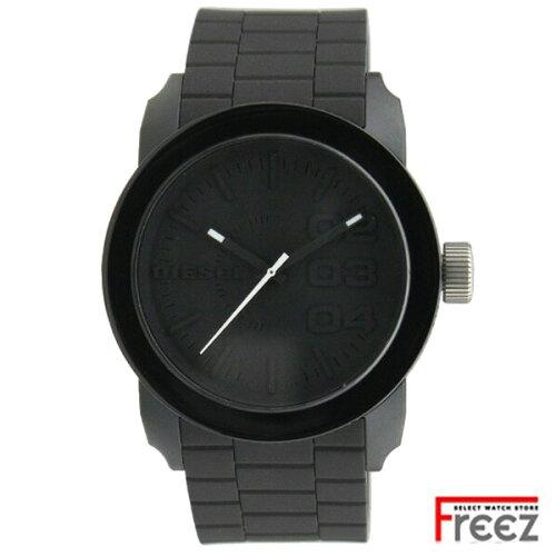 DIESEL ディーゼル 時計 メンズ 腕時計 ラバー 黒 ブラック DZ1437