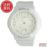 CASIO Baby-G baby-g ネオンダイアルベイビージー Neon Dial Series BGA-131-7B Baby-G 白 ベビーG ホワイト【あす楽】送料無料】