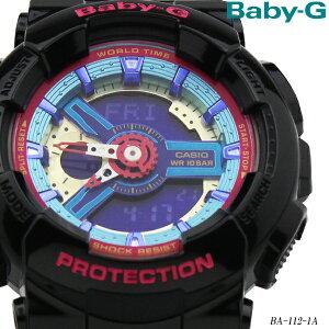 カシオ/CASIO/Baby-G/ベイビーG/ギフト/レディース/腕時計/BA-112-1A