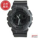 CASIO カシオ G-SHOCK ジーショック メンズ腕時計 G-ショックGA-100-1A1 【あす楽】【送料無料】