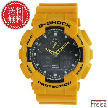 CASIO カシオ G-SHOCK G-ショック ジーショック メンズ 腕時計 GA-100A-9A【あす楽】【送料無料】