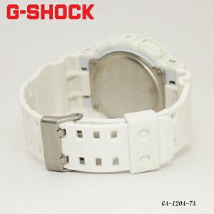 G-SHOCK白/ジーショック腕時計/GA-120A-7A/海外G-SHOCK/海外モデル