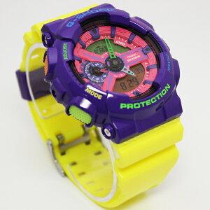 G-SHOCK/デジアナ/メンズ腕時計/ギフト/ハイパーカラーズ/GA-110HC-6A