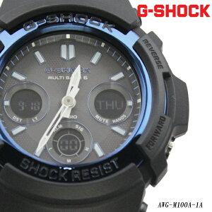 G-SHOCK電波ソーラー/ジーショック時計メンズ/電波ソーラー/AWG-M100A-1A
