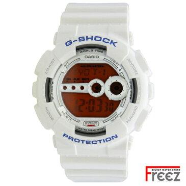 CASIO カシオ G-SHOCK 時計 G-ショック ジーショック 白 ホワイトCrazy Colors クレイジーカラーズGD-100SC-7【あす楽】ジーショック 腕時計 メンズ