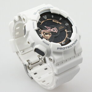 G-SHOCK/ホワイト/ローズゴールドシリーズ/デジアナ/腕時計