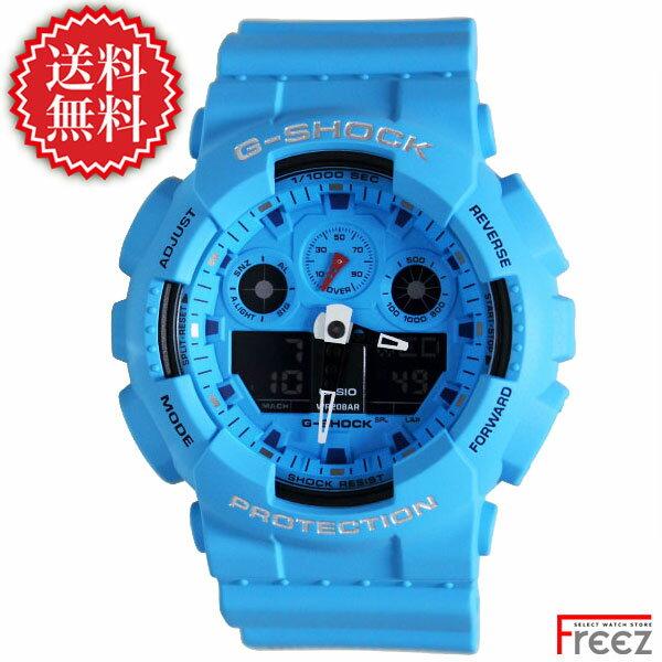 腕時計, メンズ腕時計  G-SHOCK SPECIAL COLOR Hot Rock Sounds BLUE GA-100RS-2A