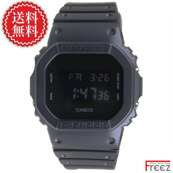 腕時計, メンズ腕時計 CASIO G-SHOCK SLID COLORS BLACK DW-5600BB-1