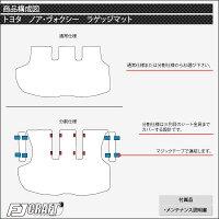 トヨタNOAHVOXYノアヴォクシー80系ラゲッジマット(チェック)