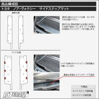 トヨタノアヴォクシー80系フロアマットラゲッジマットサイドステップマット(追加オプション)(チェック)