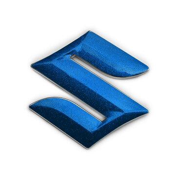 BATBERRYエンブレムフィルム メタリックシート[EFZ05m] スズキマーク ステアリング スペーシアカスタムZ MK42S ハンドル用 メタリックブルー 【ポイント消化】■高さ45mmのエンブレムに対応