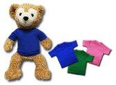 【ネコポス発送可】ダッフィーSサイズ用ミニTシャツ無地 DUFFY、Disney duffy bear、43センチダッフィーにぴったりの無地Tシャツ、ダッフィー衣装、ダッフィーコスチュームに (オ)