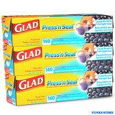 マジックラップ GLAD Press'n Seal グラッドプレッスンシール グラッド プレス&シール 3個セット