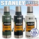 楽天STANLEY スタンレー クラシック真空ボトル クラシックボトル 1.89L 1.9L 2QT 魔法瓶 水筒 バキュームボトル 大型 ステンレススチール THE LEGENDARY CLASSIC EXTRA LARGE/ワンハンド真空マグ