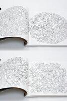 大人の塗り絵ひみつの花園秘密の花園シークレットガーデン色鉛筆海外輸入版英語版洋書原書原本コロリアージュジョハンナバスフォードアートセラピーアートブックsecretgardenJohannaBasford花いっぱいのぬりえブック