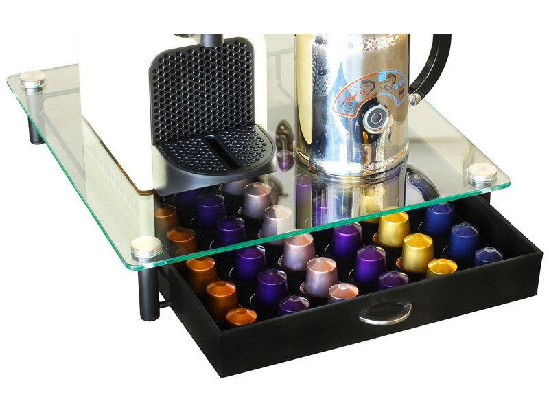 【楽天市場】ネスプレッソ 専用 カプセルホルダー Nespresso 専用 最大42個収納 クリスタルガラス