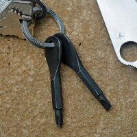 ScrewKeyスクリューキーブラックドライバーキーホルダー2本セットキーリング付プラスドライバーマイナスドライバー携帯用工具ドライバーセットミニドライバー精密ドライバー小型商品通販簡易ドライバー簡易工具応急工具非常時