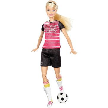 バービー メイド トゥ ムーブ ザ アルティメット ポッサブル サッカー プレイヤー ドール Barbie Made to Move The Ultimate Posable Soccer Player Dollおもちゃ ゲーム マテル【並行輸入品】