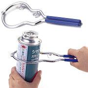 大きい缶用、小さい缶用の2wayタイプ