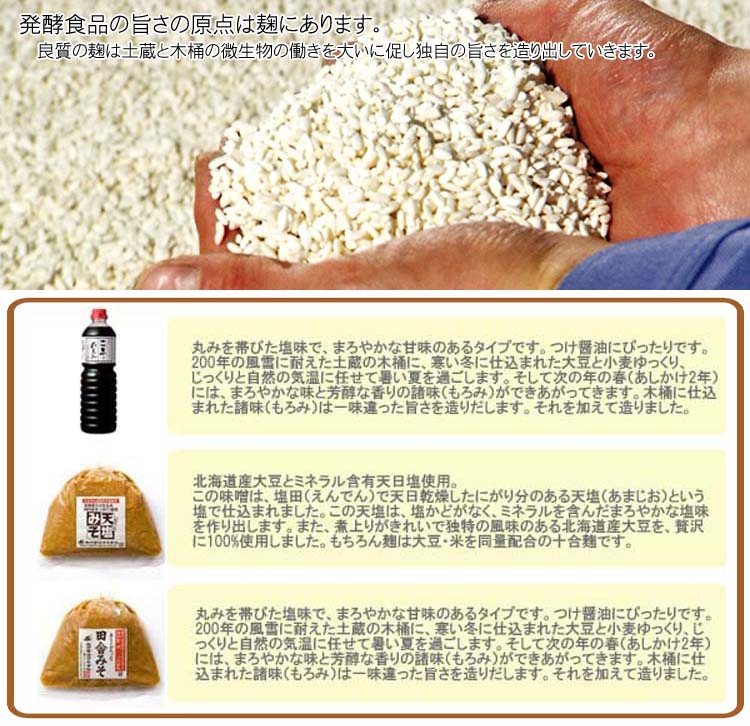 おすすめ 【根田の醤油・味噌】 天塩(あまじお...の紹介画像2
