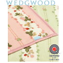 西川 WEDGWOOD(ウェッジウッド) ニューマイヤー 毛布 シングル 140×200cm アクリル 日本製 泉大津 FQ07800020 ピンク/グリーン