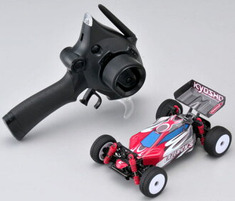 11/22 in stock: 32282 RG capital commercial mini-z buggy MB-010 ReadySET laser ZX-5FS (red/grey)