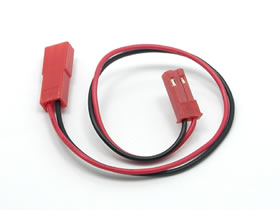 RC model parts square SGC-10 LED light extension cord (BEC-BEC connector) 150 mm EP Universal Electronics.