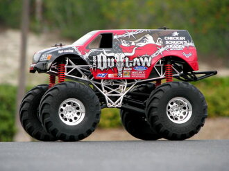 HPI 17004 iron outlaw 4 x 4 body (King Willie)