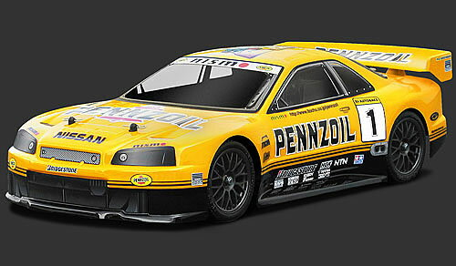 HPI 7467 Pennzoil NISMO R34 gt-r GT body (200 mm)