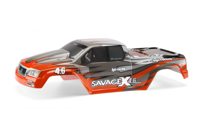 7786 HPI Nitro GT-2 truck paint body (red)